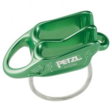 belay device PETZL Reverso green Click to view the picture detail.