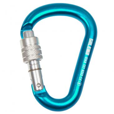 carabiner SALEWA HMS Screw G2 Small Sky Blue Click to view the picture detail.