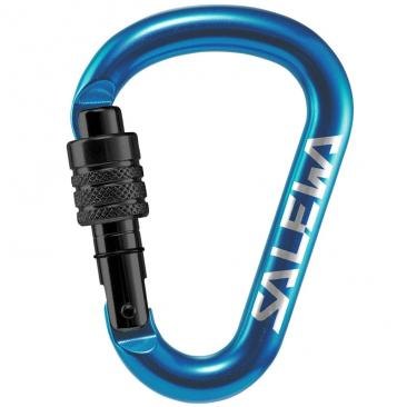 carabiner SALEWA HMS Screw G2 Small blue Click to view the picture detail.