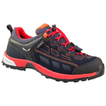 shoe SALEWA JR Alp Player WP night black Click to view the picture detail.