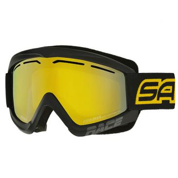 ski goggles SALICE 969 DARWFV black-yellow Click to view the picture detail.