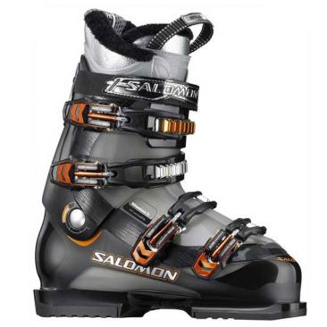 ski boots SALOMON Mission 5 black/nickel Click to view the picture detail.