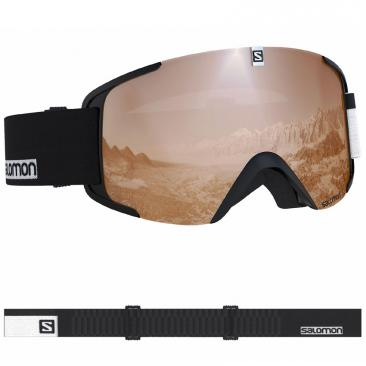 goggle SALOMON Xview Access black-white Click to view the picture detail.
