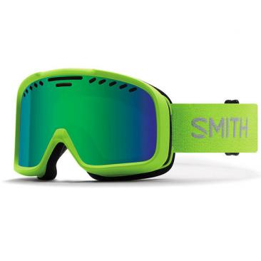 ski goggles SMITH Project Flash/Green Sol-X Mirror Click to view the picture detail.