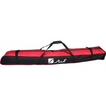ski bag STUF Advanced black/red Click to view the picture detail.