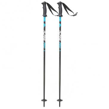 ski poles STUF Alpin Pro JR black/blue Click to view the picture detail.