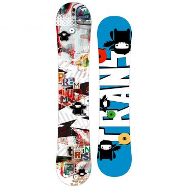 snowboard TRANS Premium 3D white Click to view the picture detail.