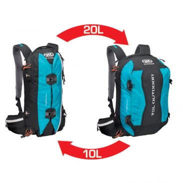 backpack TSL Outdoor Dragonfly 10/20 Black/Blue Click to view the picture detail.