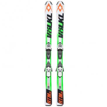 skis VÖLKL RTM JR green + Marker M 7.0 Click to view the picture detail.