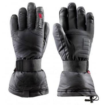 gloves ZANIER Carrier Junior black Click to view the picture detail.
