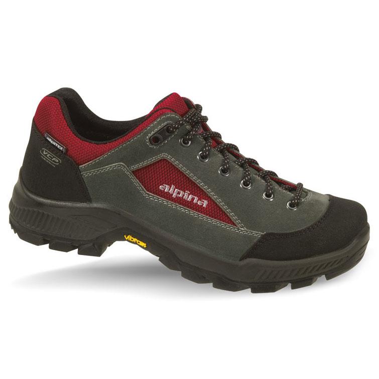 7c7ecc4b4c Pánska obuv obuv ALPINA Cromo Low grey red