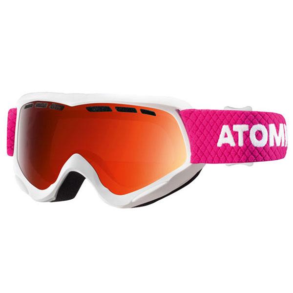 6f9f476e8 lyžiarske okuliare ATOMIC Savor Jr. White/Orange | sport-outdoor.sk