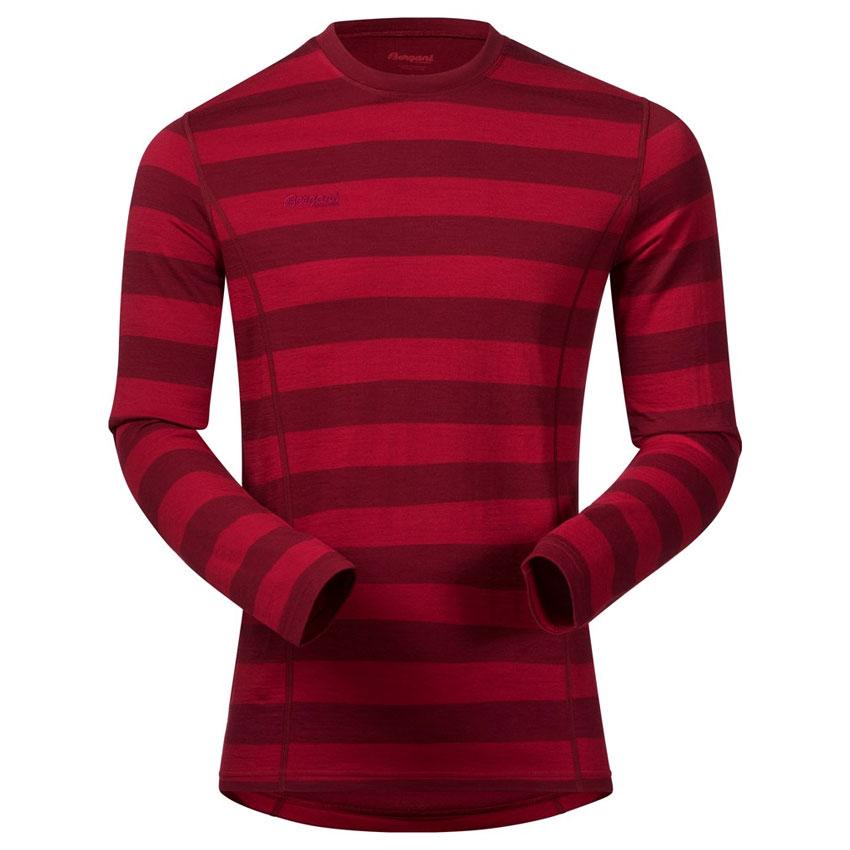 00e88c065 tričko BERGANS Akeleie Shirt red/burgundy | sport-outdoor.sk