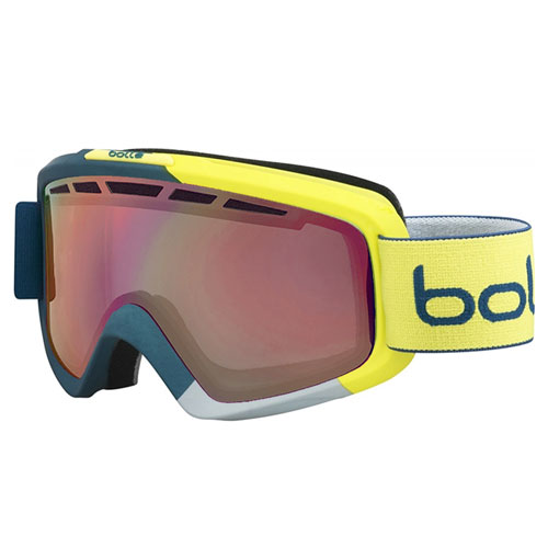 7913e6e69 goggles BOLLÉ Nova II Matte Blue Yellow | sport-outdoor.sk