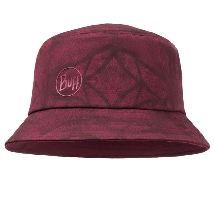 87f56a42ff86 klobúk BUFF Trek Bucket Hat Calyx Dark Red