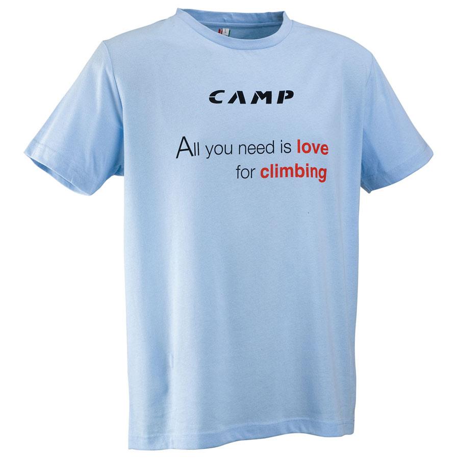 f5ec04def99 ... tričko CAMP Climbing Tee blue