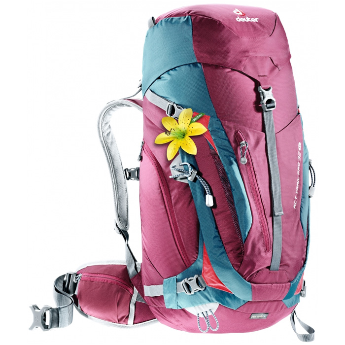 007606dcc59 backpack DEUTER ACT Trail Pro 32 SL blackberry-arctic