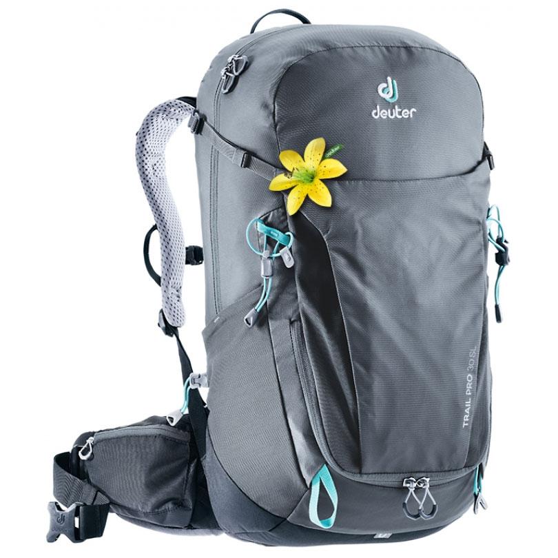 2f105fb4d batoh DEUTER Trail Pro 30 SL graphite-black Kliknutím zobrazíte detail  obrázku.