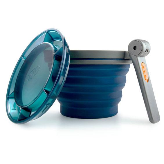 GSI OUTDOORS Collapsible Fairshare Mug blue ae4ffd49241