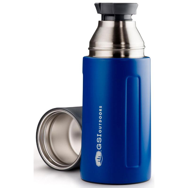 GSI OUTDOORS Glacier Stainless 0.5 L Vacuum Bottle blue Kliknutím zobrazíte  detail obrázku. c7d319a1f56