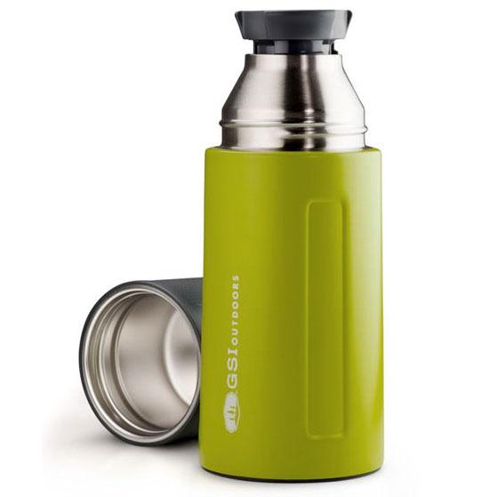 GSI OUTDOORS Glacier Stainless 0.5 L Vacuum Bottle green Kliknutím  zobrazíte detail obrázku. 79c62647da1
