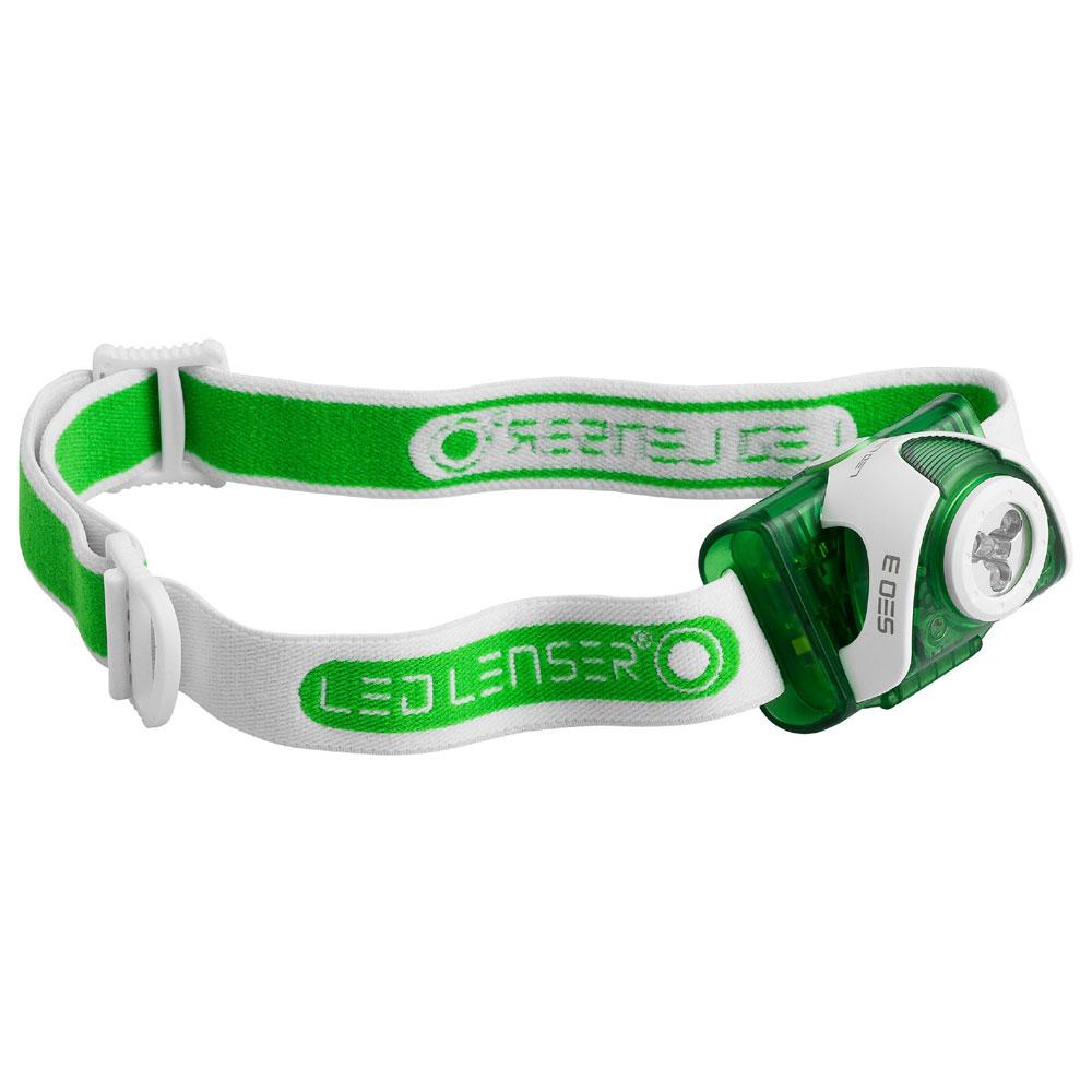 čelovka LED LENSER SEO 3 green-white