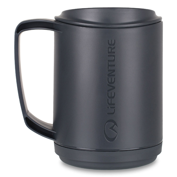 hrnček LIFEVENTURE Ellipse Insulated Mug graphite  0cb04baa3cf