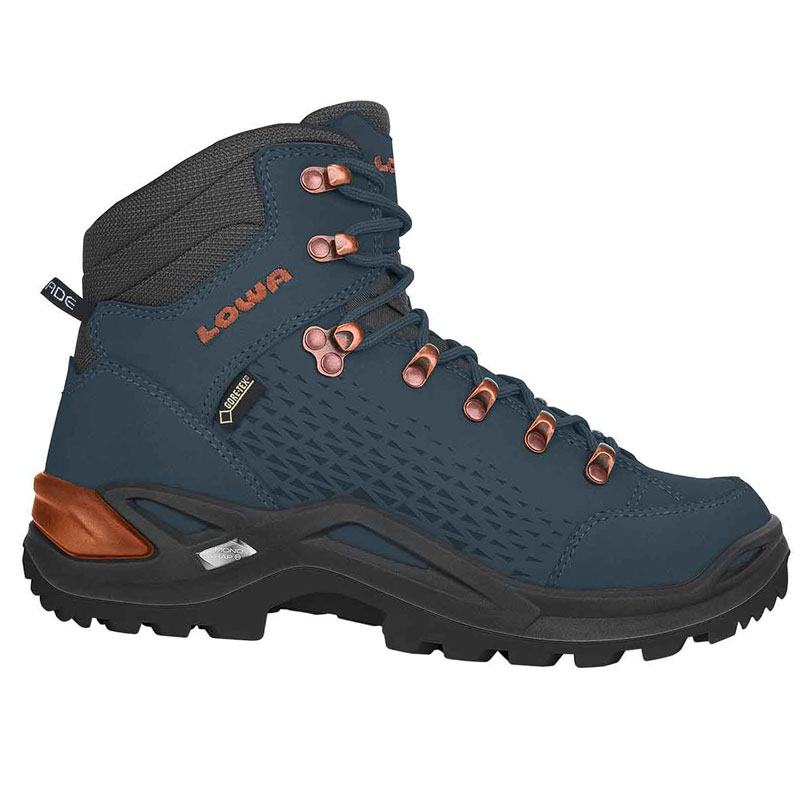 96485f6097 shoe LOWA Renegade GTX Mid 20 navy copper