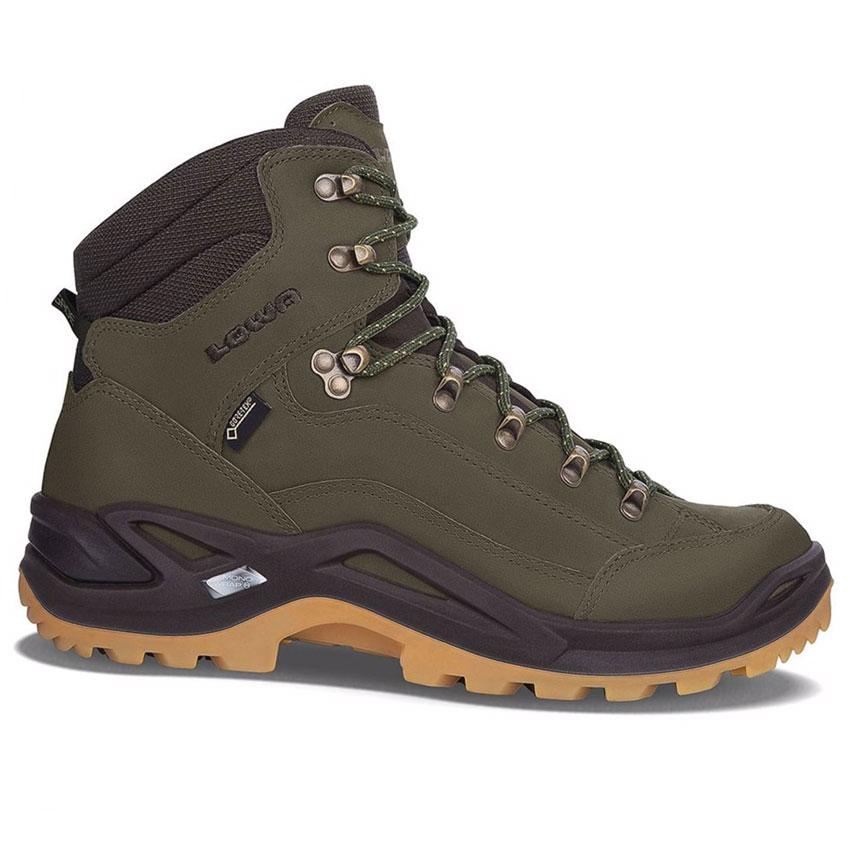 70b7450e07ee0 obuv LOWA Renegade GTX Mid forest/dark brown Kliknutím zobrazíte detail  obrázku.
