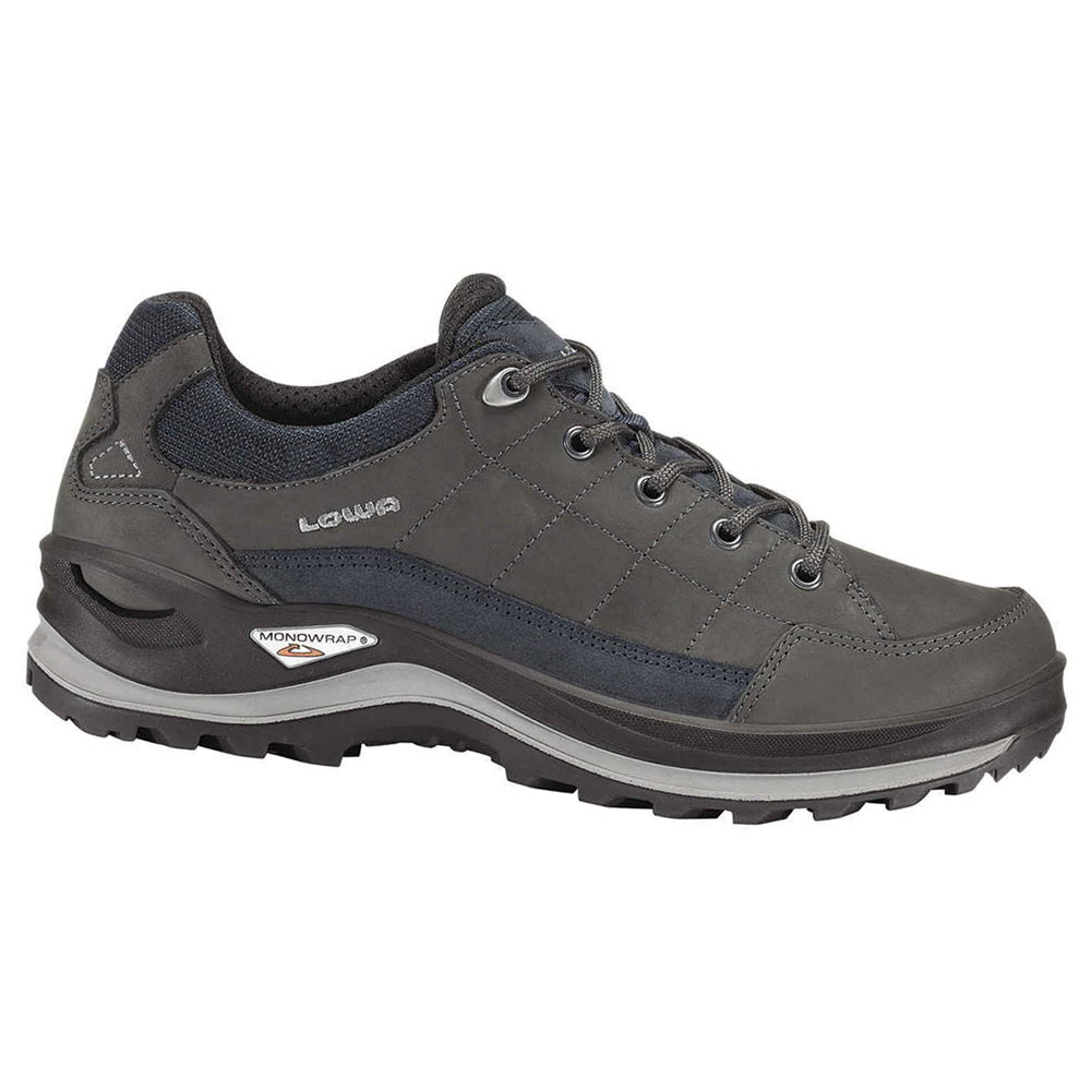 shoe LOWA Renegade III GTX Lo dark grey/navy Click to view the picture  detail