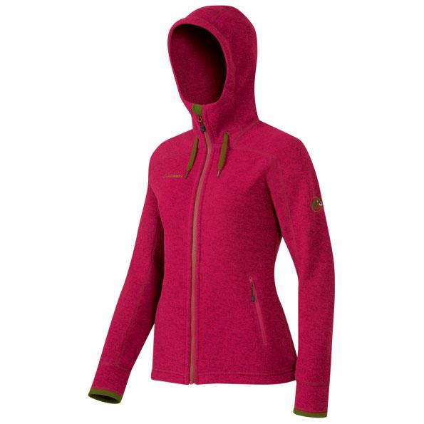 bunda MAMMUT Arctic Hooded ML Jacket Women crimson  f22da60006a
