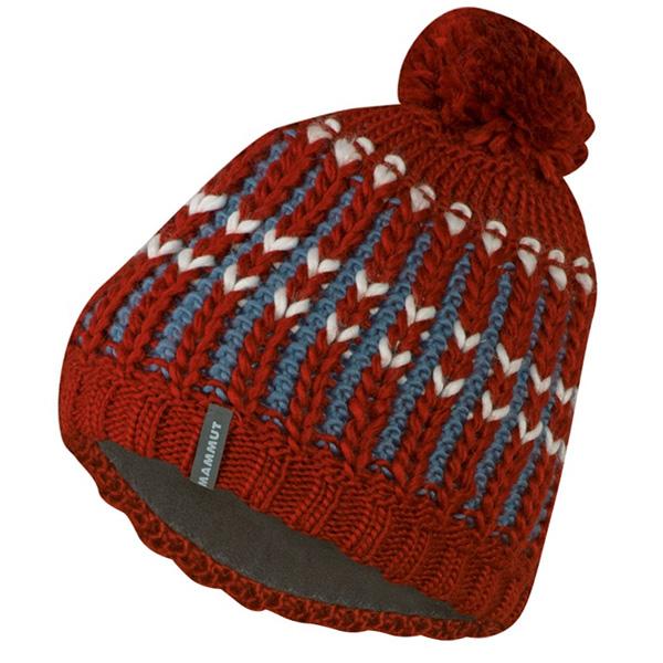 Zimné čiapky čiapka MAMMUT Luina Beanie maroon-chill e1d83dbd946
