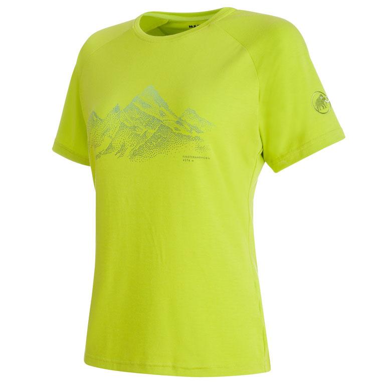 855da737e3a9 tričko MAMMUT Mountain T-Shirt Women sprout Kliknutím zobrazíte detail  obrázku.