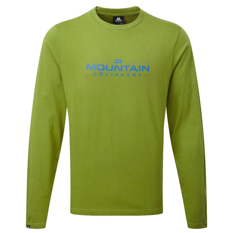 da0e7b1ccce9 Tričká - dlhý rukáv tričko MOUNTAIN EQUIPMENT Logo LS Tee kiwi