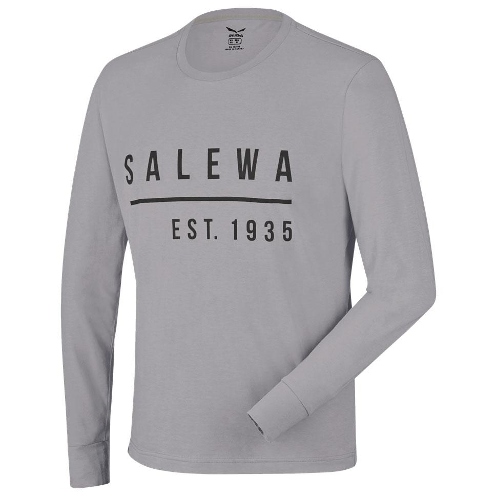 5d5c400ab679 SALEWA Binne CO M L S Tee grey melange