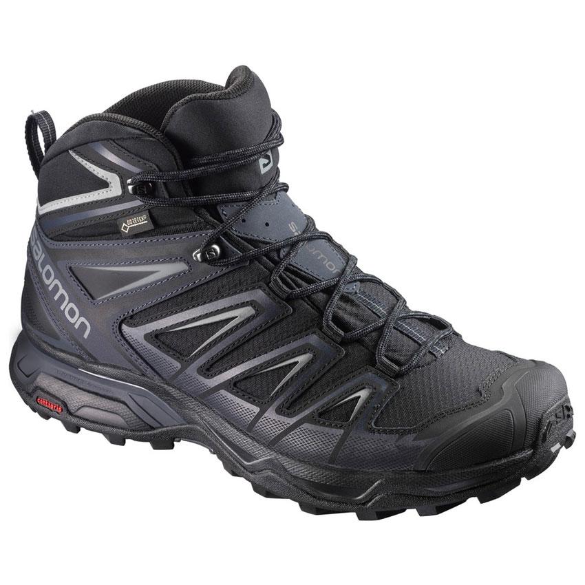 shoe SALOMON X Ultra 3 Mid GTX black
