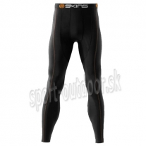SKINS Snow Thermal Long Tights Pant men black/orange