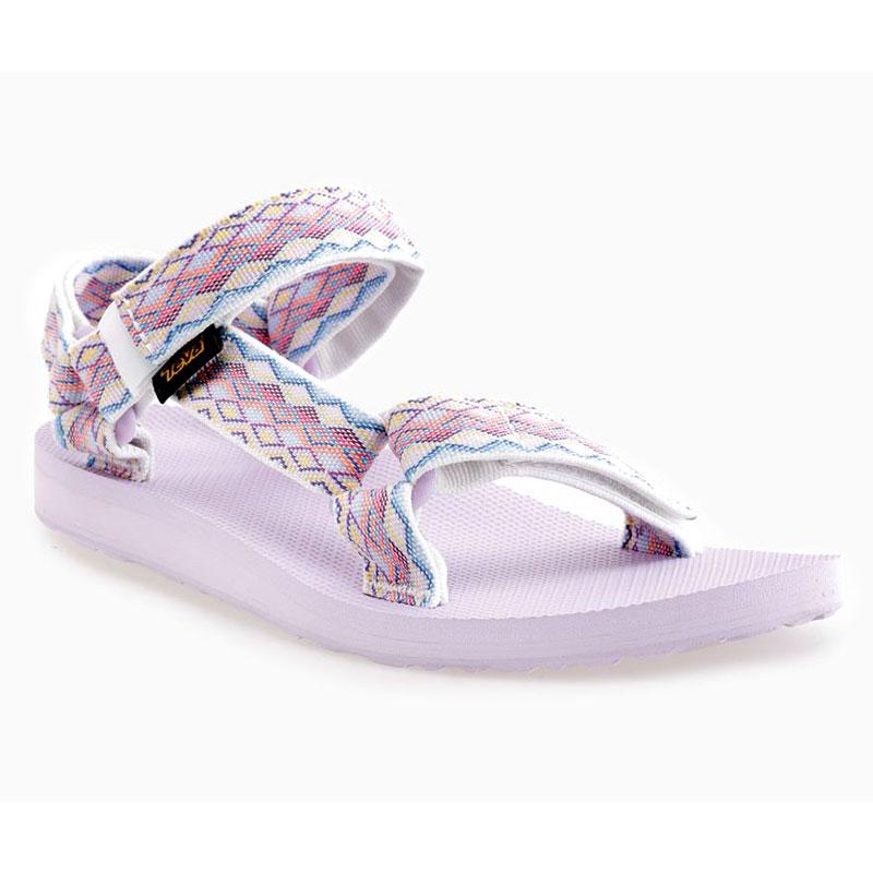 33e0a8435e5e sandále TEVA W Original Universal white blue